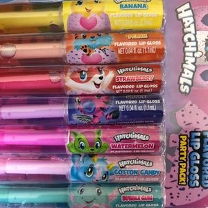 3/$15 Hatchimals party pack of lip gloss